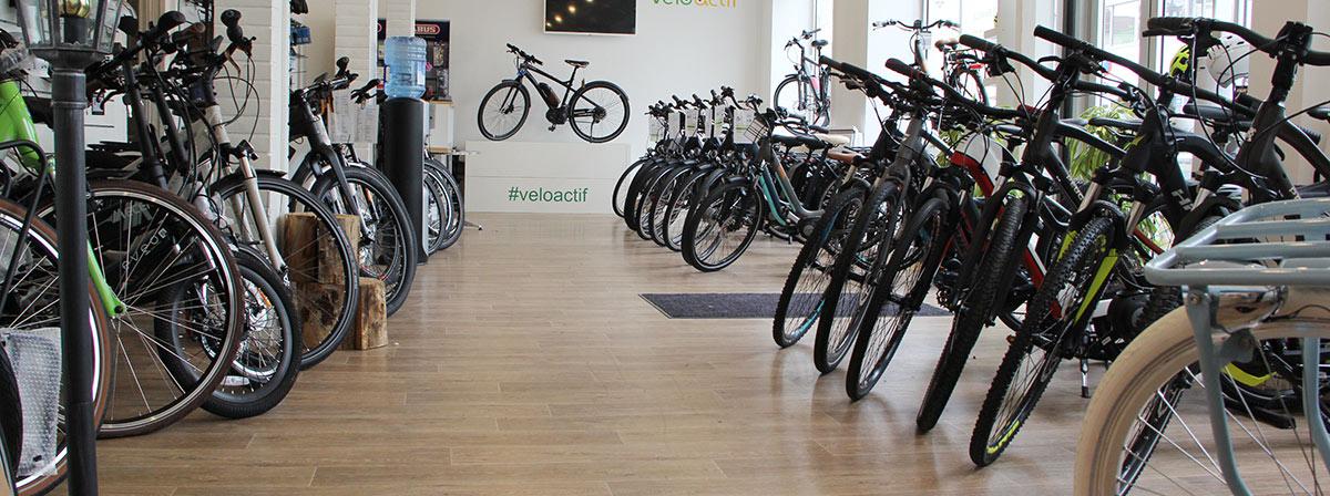 Vélo électrique de ville et VTC