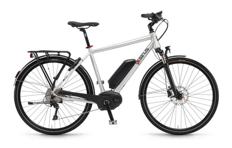 Vélo électrique BT60 Homme 2016 SINUS | Veloactif