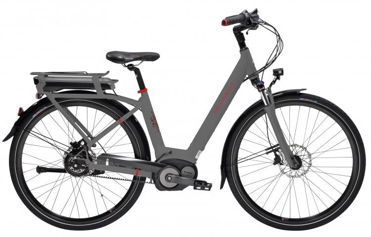 Vélo électrique eC01 NuVinci 2017 PEUGEOT | Veloactif