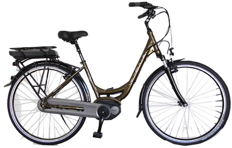 Vélo électrique Série Limitée Bosch Confort V-Brake VELO DE VILLE | Veloactif