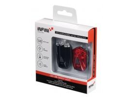 Set mini-éclairage de sécurité AV/ARR rechargeable Lava I-260WR INFINI   Veloactif