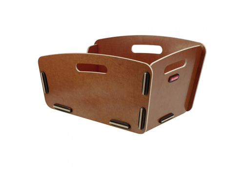 Caisse ARR. pour porte bagage Natura KLICKFIX | Veloactif
