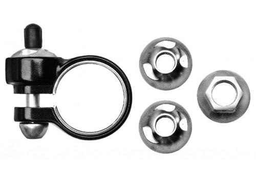 Antivol Security Pack 3 pièces roue AV + roue ARR (FA)+ tige de selle (Ecrous borgnes) pour vélo électrique PINHEADLOCKS | Veloactif