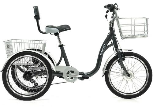 Tricycle électrique E-132 MONTY | Veloactif